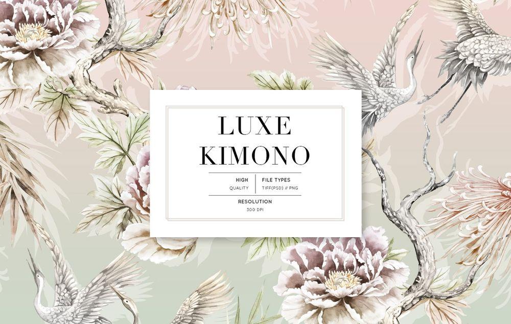 Luxe-Kimono-Patterns-Motifs-set