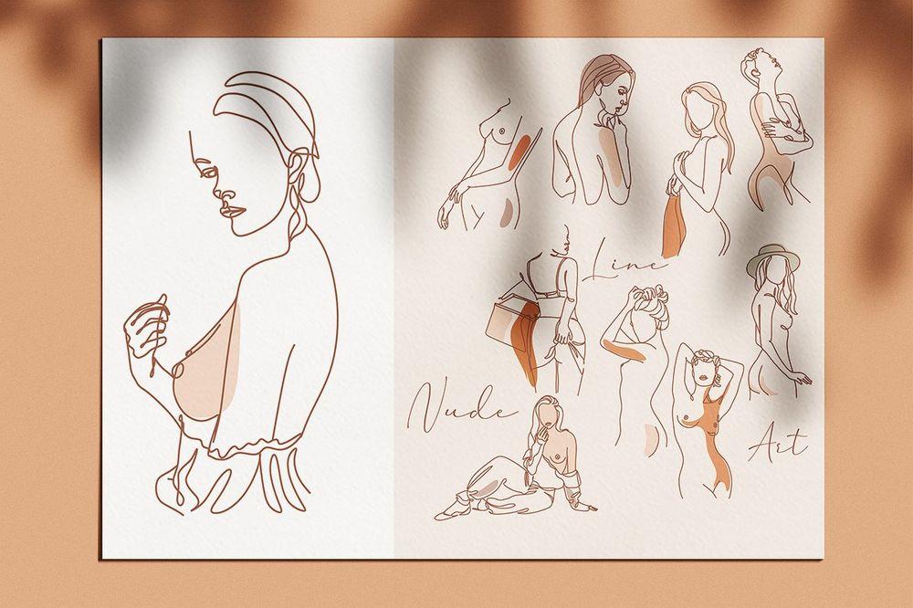 Nude-line-drawing-Art