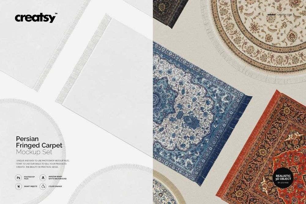 Persian-Fringed-Carpet-Mockup-Set