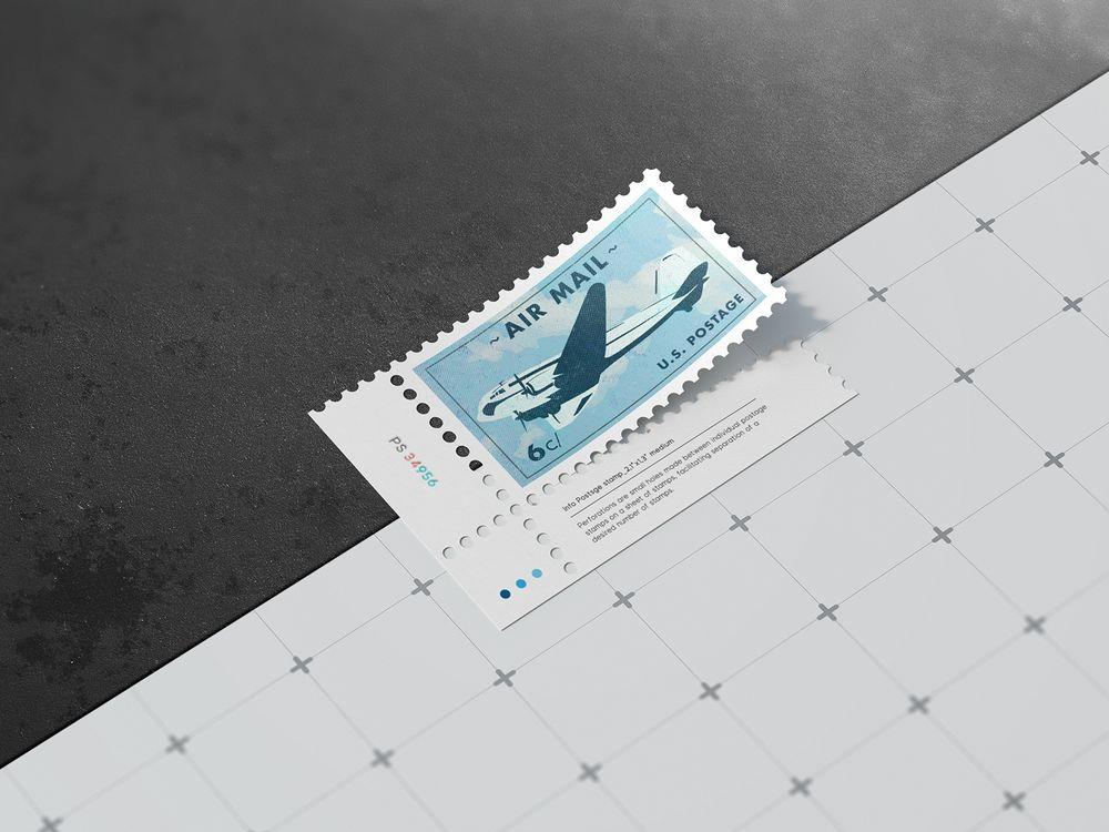 Postage-stamps-mock-up