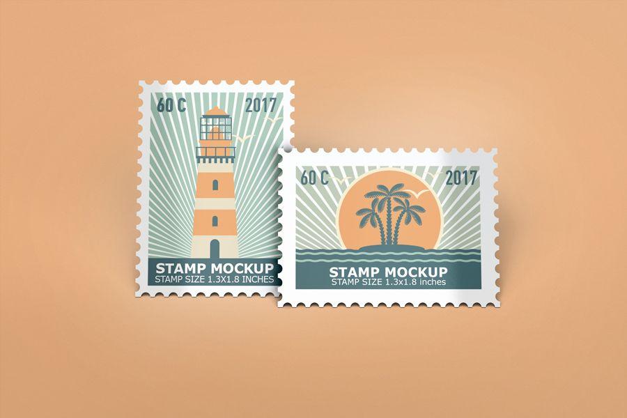 Stamps-Mockup