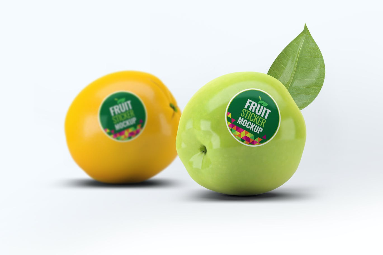 fruit-sticker-mock-up