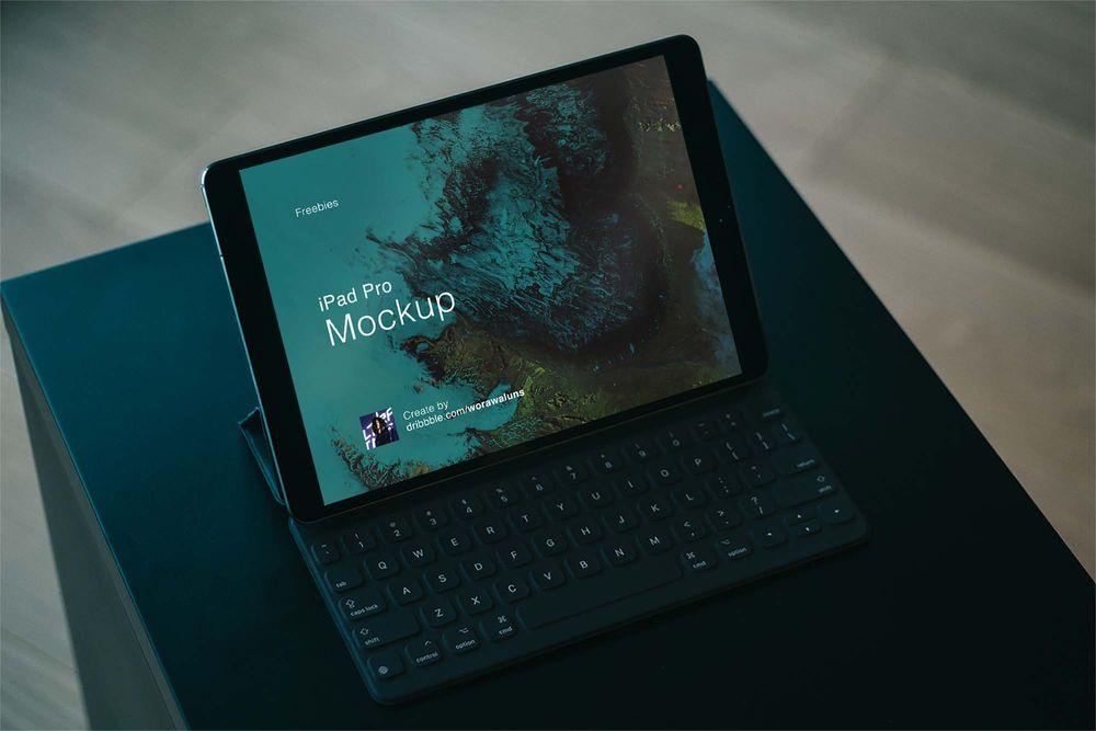 ipad-pro-with-keyboard-mockup