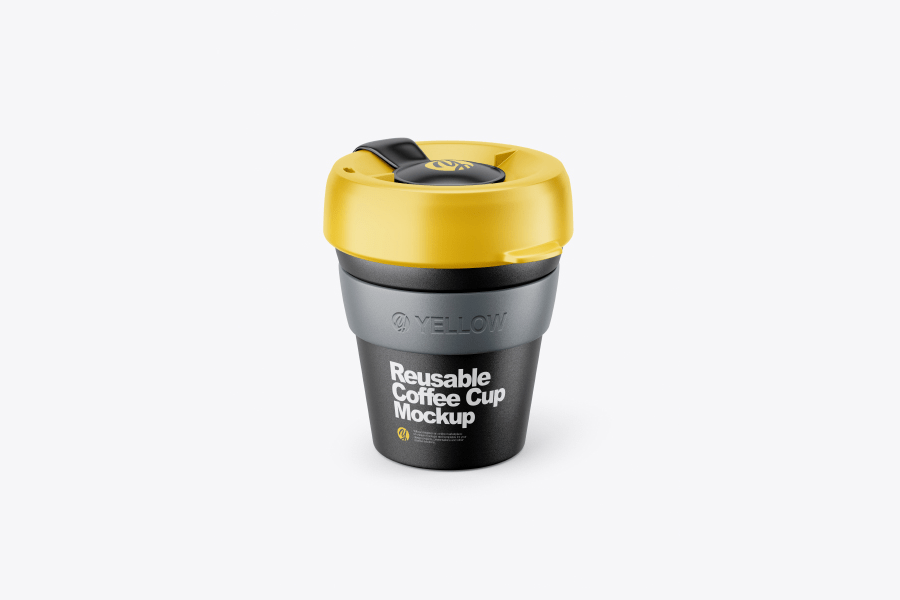 reusable-coffee-cup-mockup-front-view-high-angle-shot