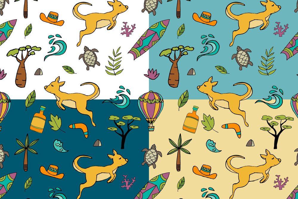 australia-seamless-free-pattern