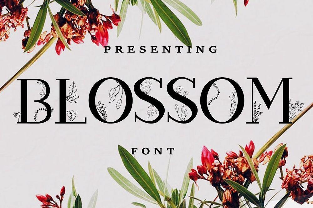 Blossom-Font-EXTRAS