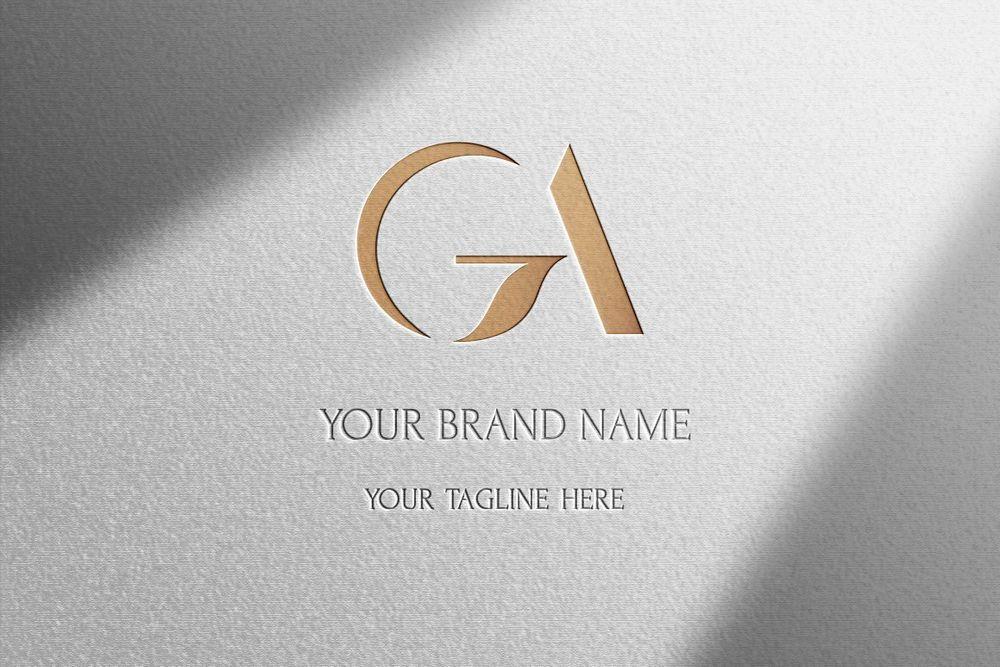 GA-classical-initials-monogram