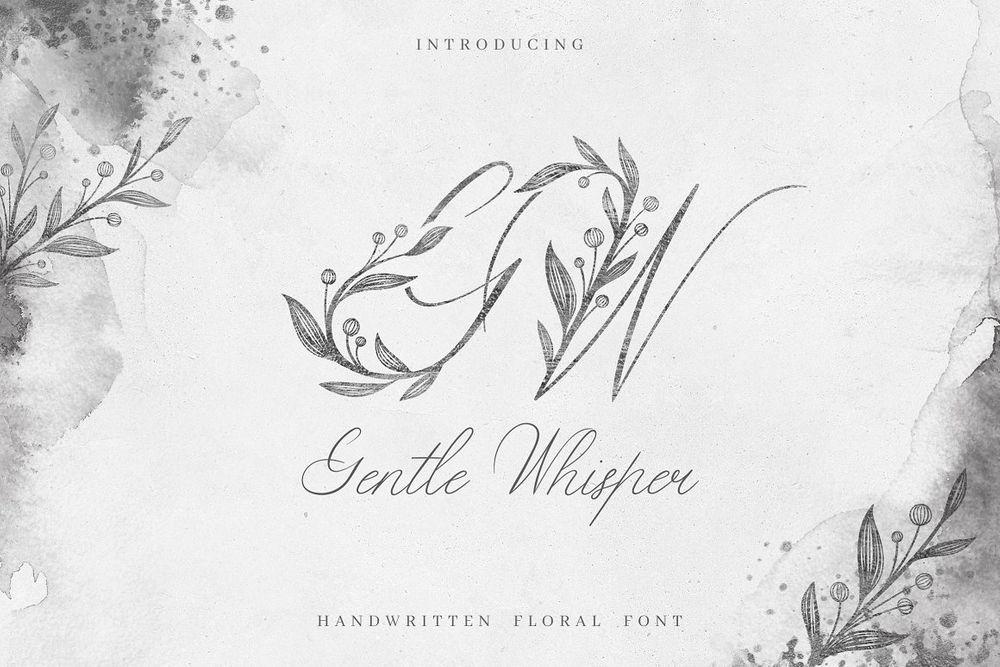 Gentle-Whisper-Wedding-Floral-Font
