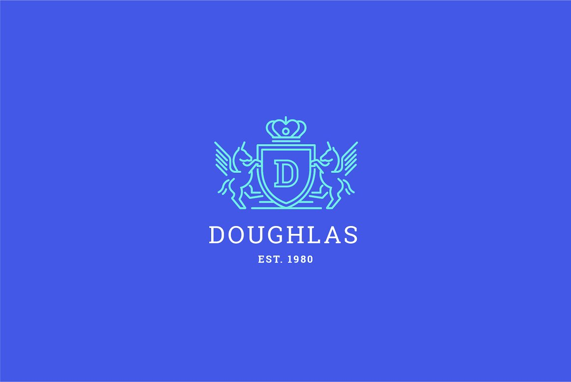 Letter-D-Logo-Heraldry-Crest-Logo