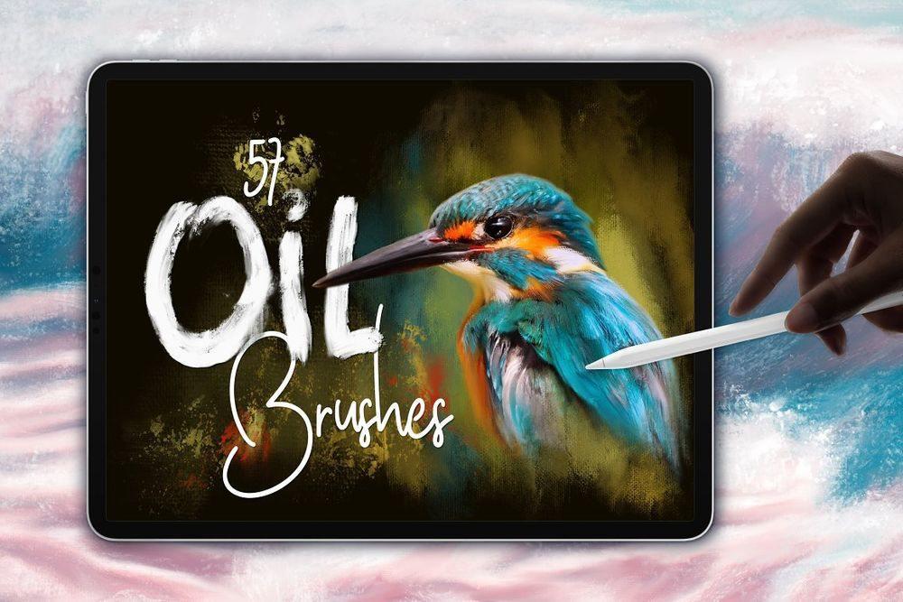 Oil-Brushes-for-Procreate