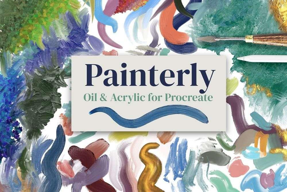 Painterly-Brushes-for-Procreate