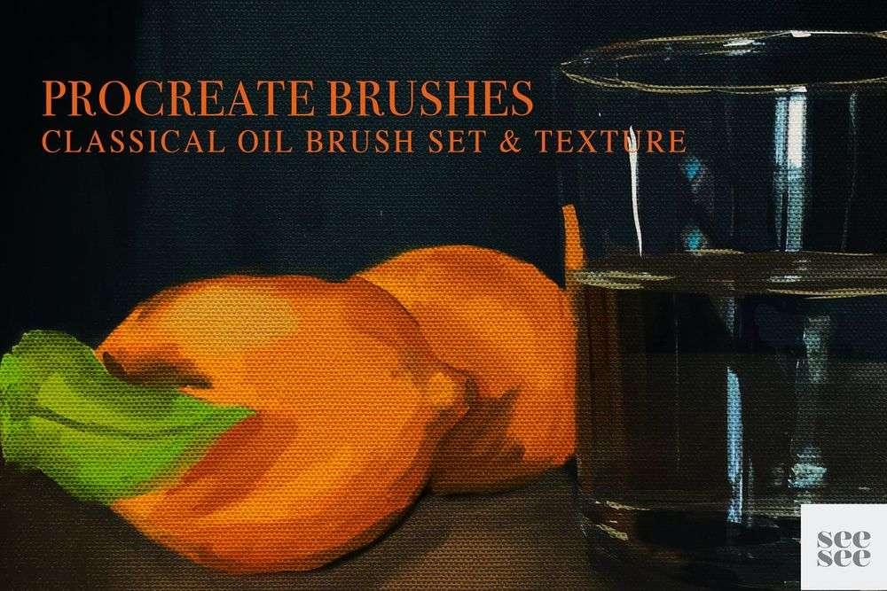 Procreate-Oil-Brush-Set-Texture