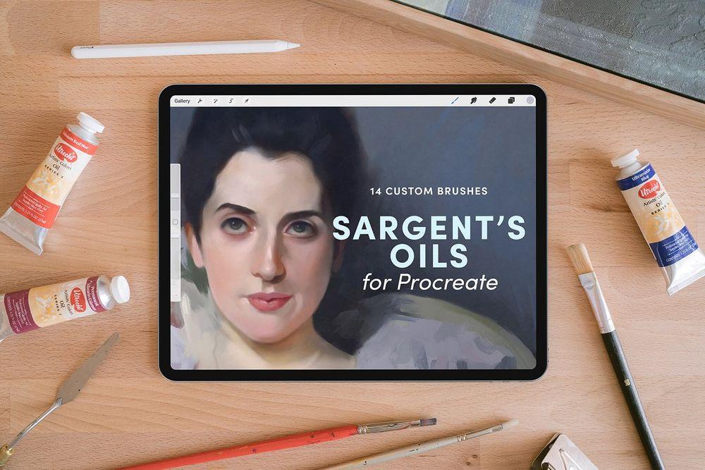 Sargents-Oils-–-Procreate-Brushes