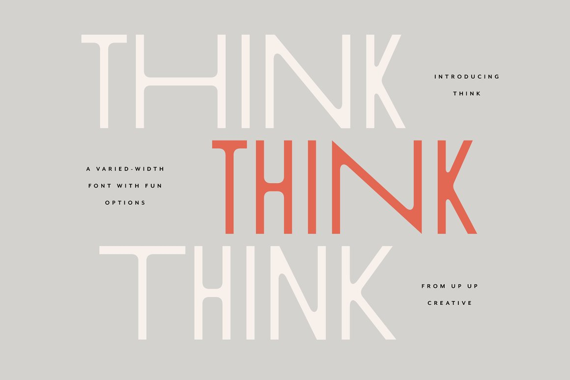 Think-Sans-A-Varied-Width-Font