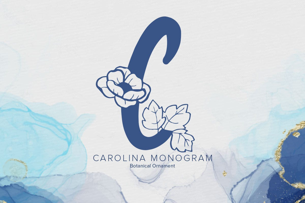 carolina-monogram-font