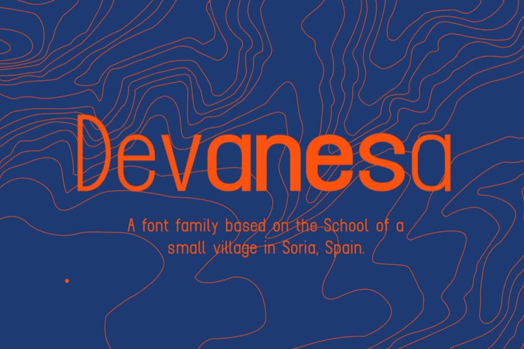 devanesa-free-variable-font