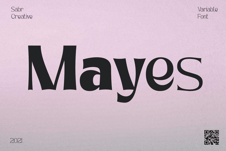 mayes-variable-font