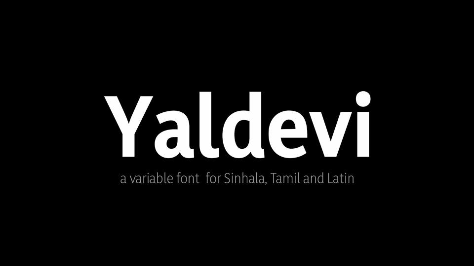 yaldevi-free-variable-font